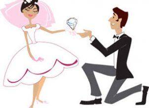 Değişik evlenme teklifi:)