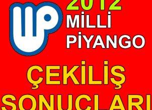 1 Ocak 2012 Milli Piyango Yılbaşı Çekilişi Sonuçları Sıralı Tam Liste