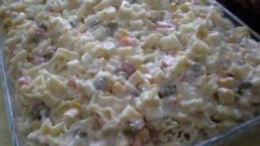 Mayonezli Makarna Salatası