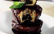 Çikolata Kaplı Mufin