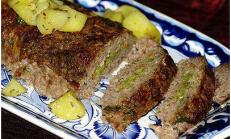 Bezelyeli Rosto Köfte ve Biberiyeli Patates