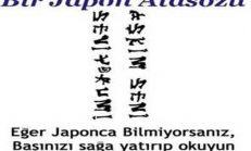 Japonca Sevgi Sözleri